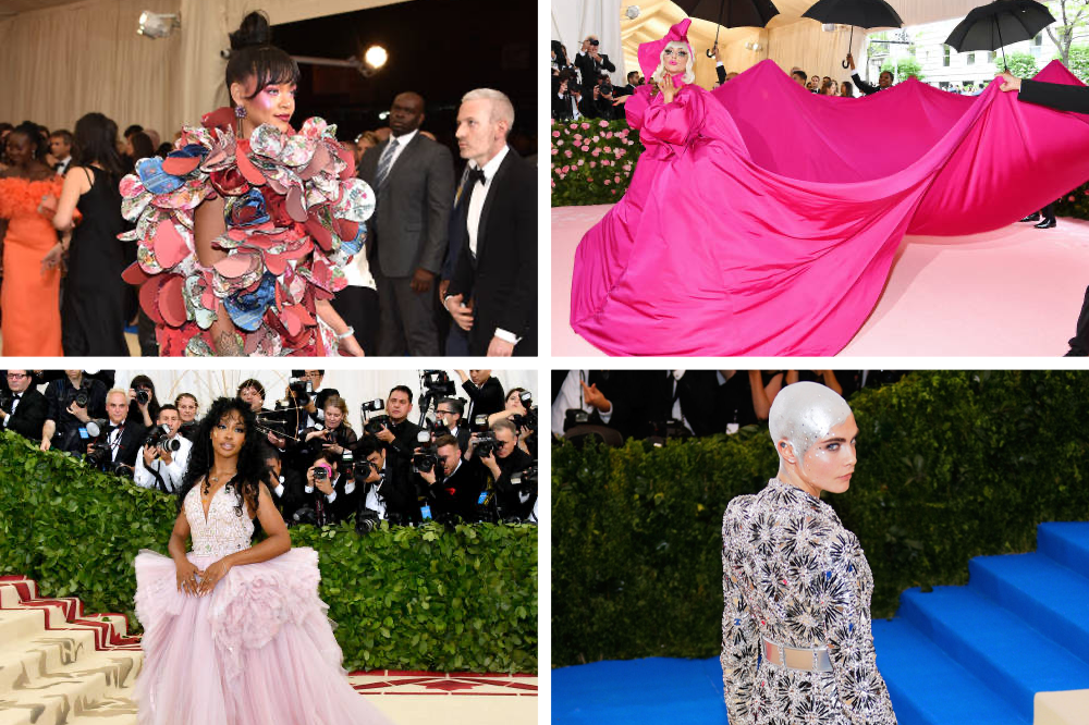 10 of the Wildest MET Gala Makeup Looks of All Time